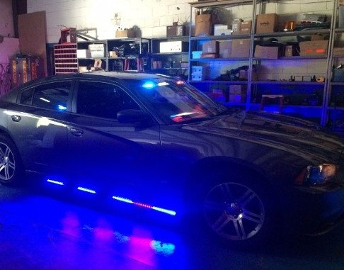 Charger with Blue Lights - Communication Equipment